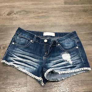 Almost Famous Denim Shorts